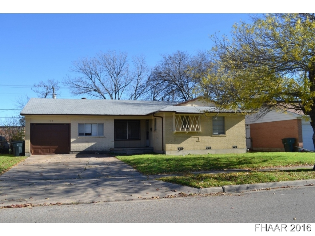 708 Alexander St Killeen Tx For Sale 55 000
