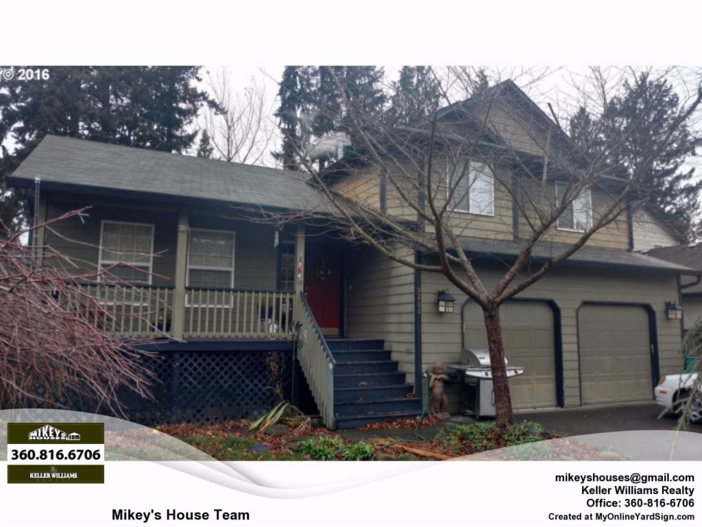 9208 ne 14th way vancouver wa for sale 265 000 for Vancouver washington home builders