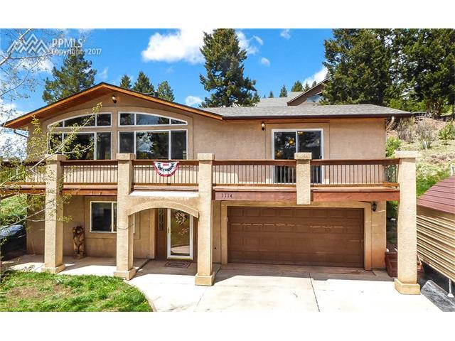 Home For Sale 1114 Parkview Place Woodland Park CO 80863