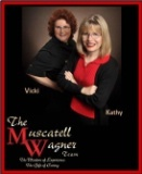 Vicki Wagner and Kathy Muscatell
