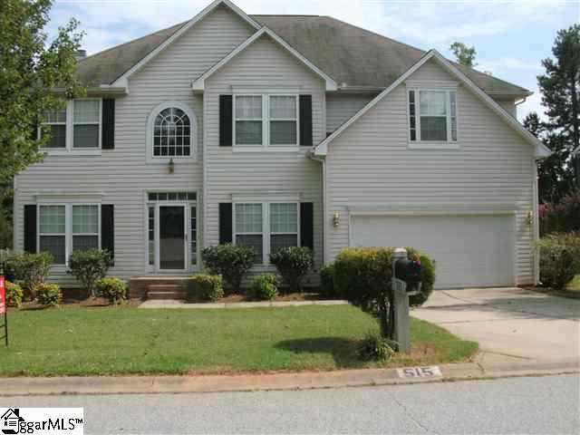 515 Forest Shoals Lane, Duncan, SC, 29334 -- Homes For Sale
