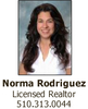 Real Estate Agents: Norma Rodriguez, Rodeo, CA