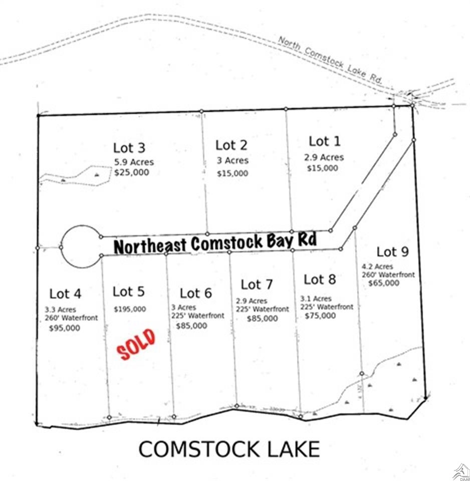 Lot 6 Ne Comstock Bay Rd, Cotton, MN, 55724 -- Homes For Sale