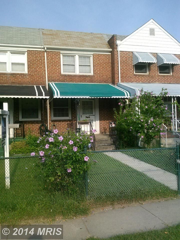 1402 broening highway baltimore md for sale 81 000 for Baltimore houses for sale