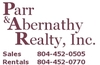 Real Estate Agents: Parr & Abernathy Realty, Hopewell, VA