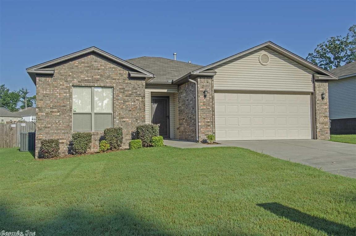 61 bracey cir little rock ar for sale 127 000 for Cost to build a house in little rock