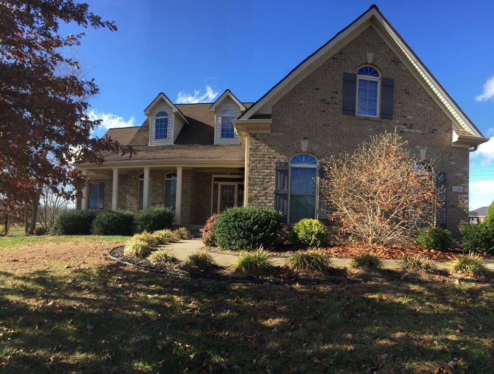 126 aishlins ct richmond ky for sale 374 900 for Home builders richmond ky