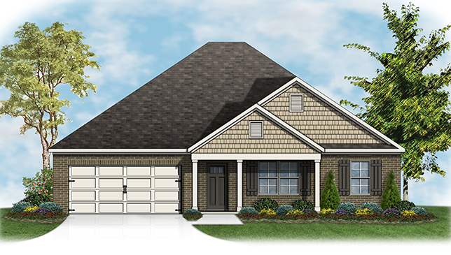 Denton at new park in montgomery al property Home builders in montgomery al