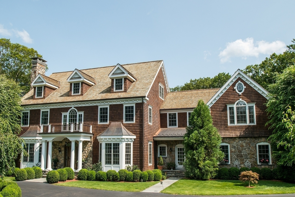 283 Mariomi Road New Canaan Ct For Sale 2 395 000