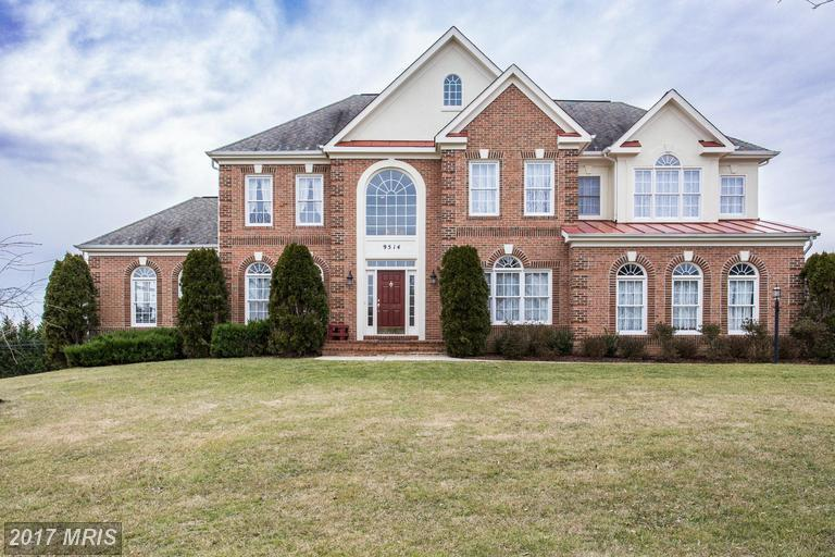 9514 meadow ridge ln gaithersburg md for sale 775 000