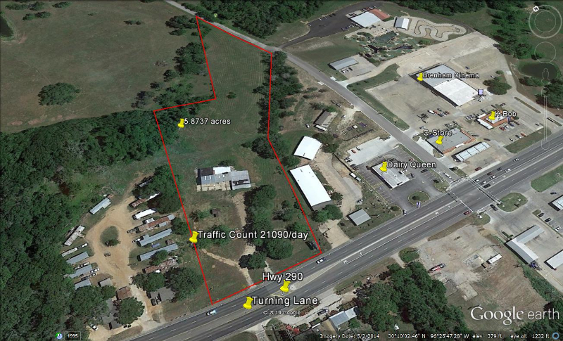 2320 Hwy 290 West, Brenham, TX, 77833 -- Homes For Sale