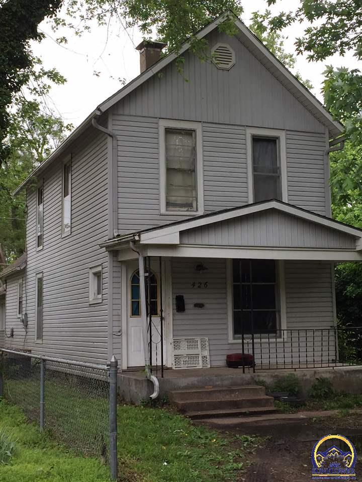 426 Freeman Ave Ne Topeka Ks For Sale 40 000