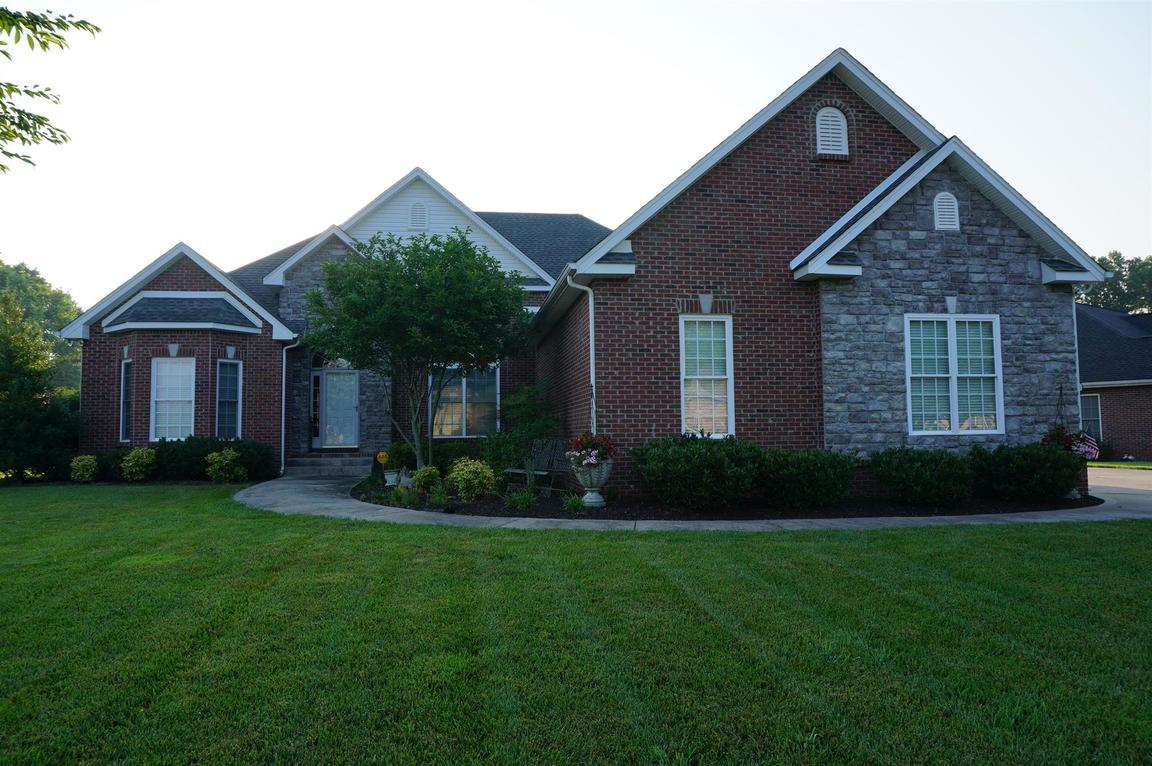 2564 hedgerow ln clarksville tn 37043 for sale for Home builders clarksville tn