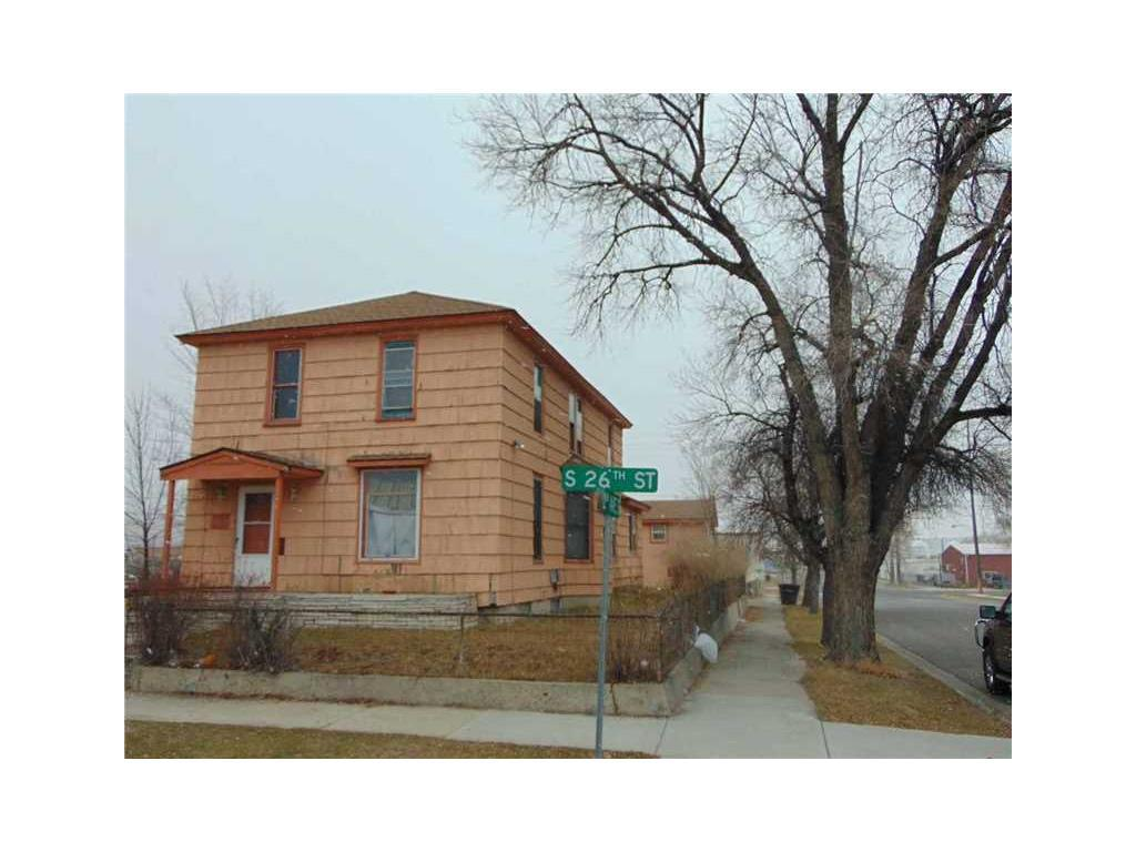 121 South 26th Street Billings Mt For Sale 290 000