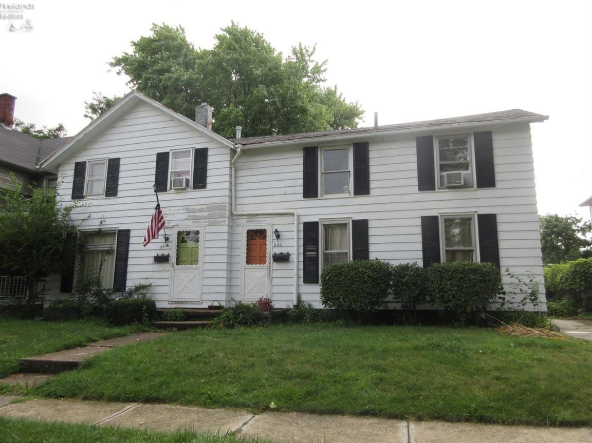 260 Northwest Street Bellevue Oh For Sale 47 500