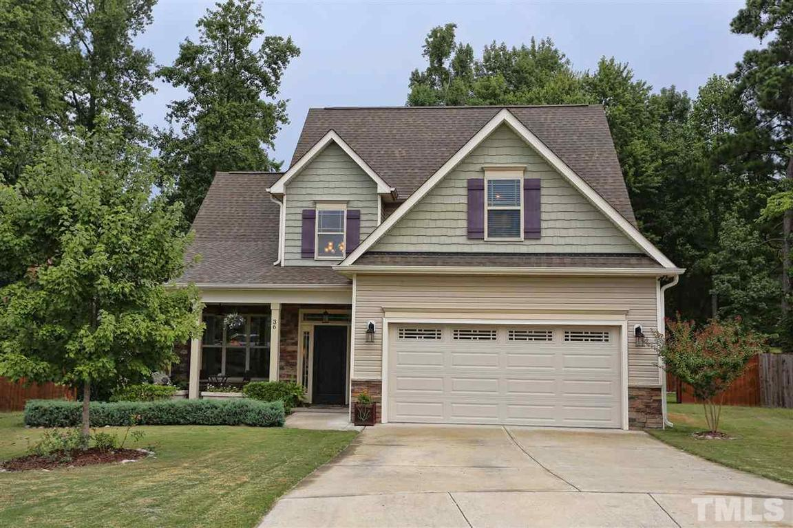 36 larkspur court youngsville nc 27596 for sale