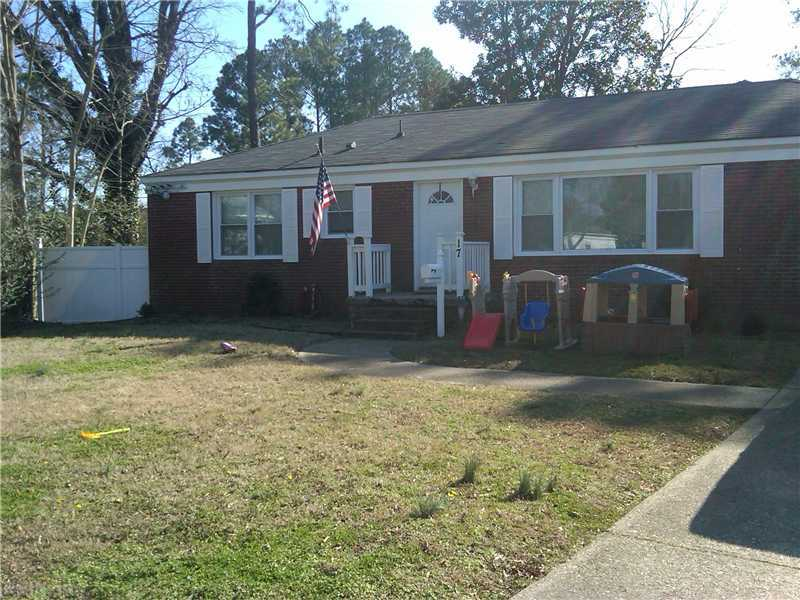 17 Ramsey Ct, Hampton, VA, 23666 -- Homes For Sale