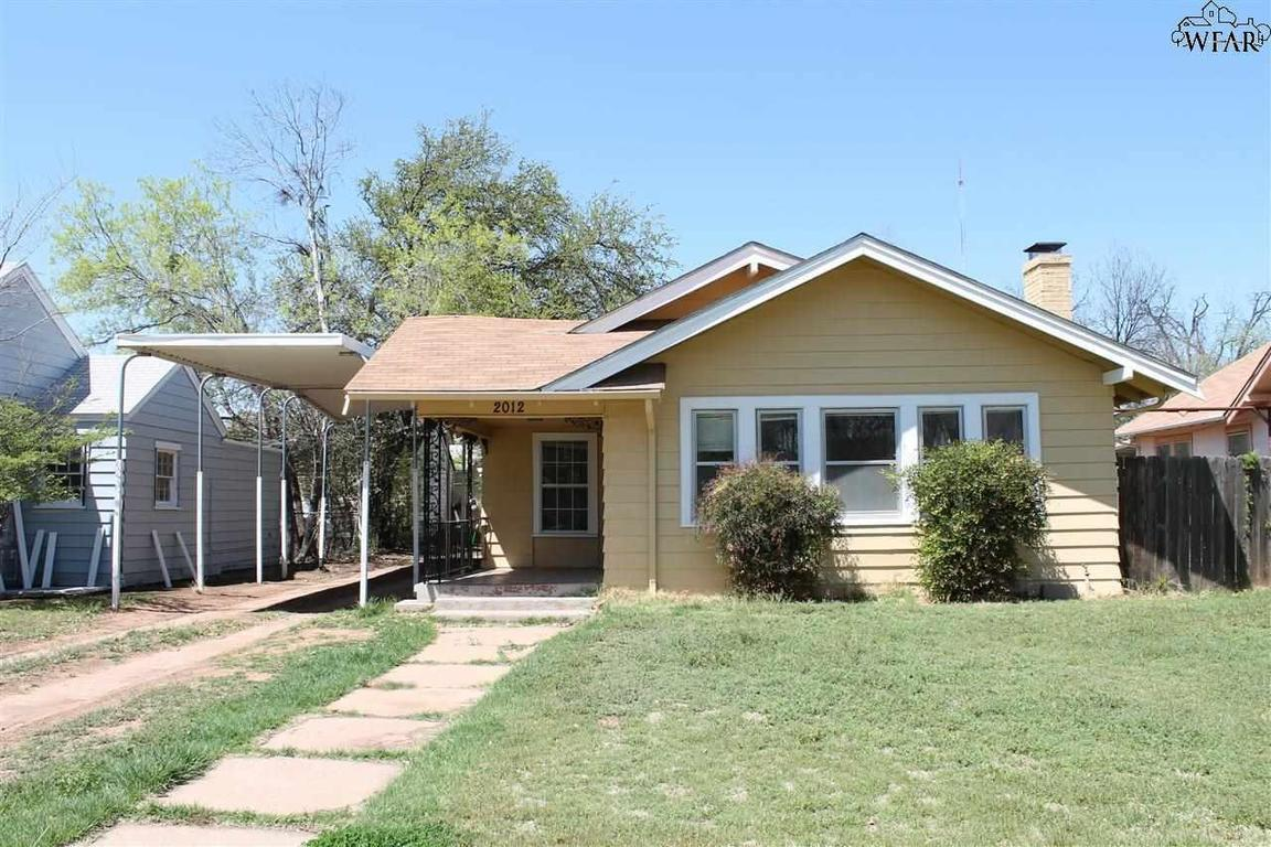 2012 Garfield Street Wichita Falls Tx For Sale 59 500
