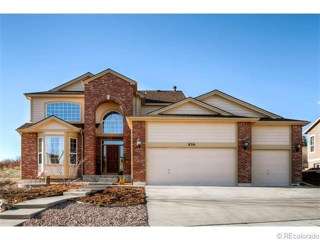 Crystal valley ranch homes for sale real estate castle for Castle rock builders
