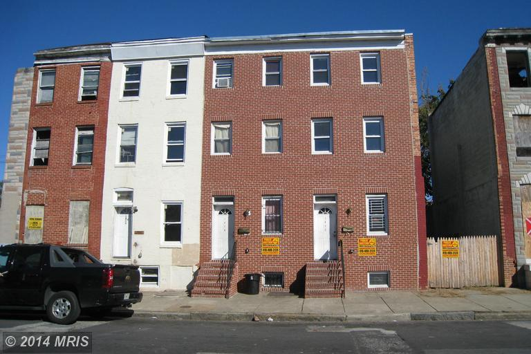 1814 Mchenry Street, Baltimore, MD, 21223 -- Homes For Sale
