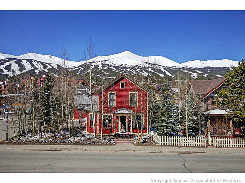 Breckenridge Co Homes For Sale Breckenridge Real Estate