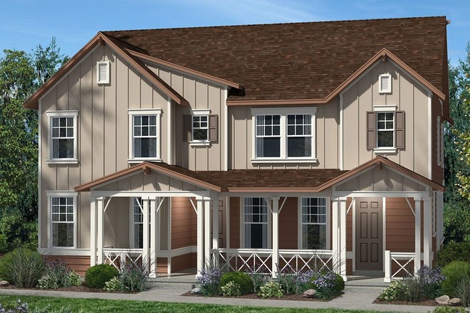 Ready To Build Home In Central Park - Villa Collection Community