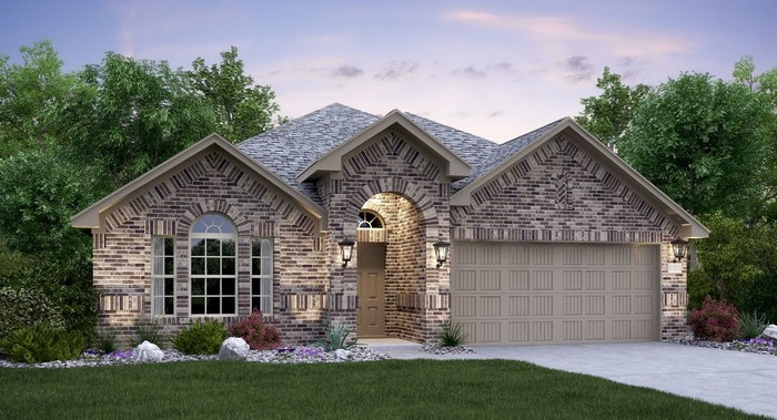 Ready To Build Home In Enclave at Estancia - Brookstone II Collection Community