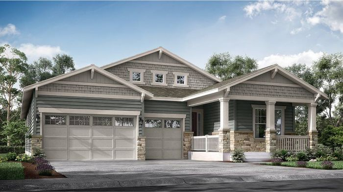 Ready To Build Home In Heritage Todd Creek - The Heritage Collection Community
