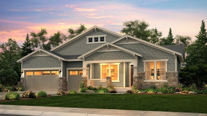 Ready To Build Home In Heritage Todd Creek - The Legends Collection Community