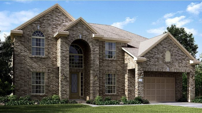 Ready To Build Home In Falls at Green Meadows - Texas Reserve Collection Community