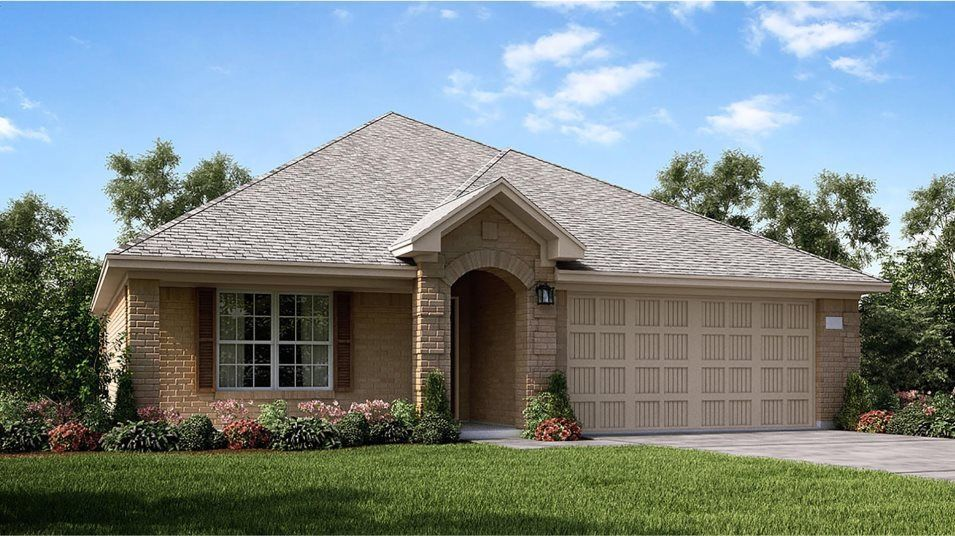 Ready To Build Home In McCrary Meadows - Wildflower Collection Community