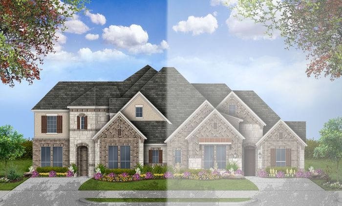 Ready To Build Home In Grand Central Park Townhomes Community