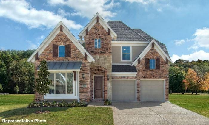 Ready To Build Home In Frisco Hills Community
