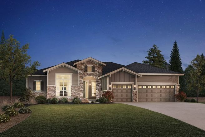 Ready To Build Home In Toll Brothers at Inspiration - Boulder Collection Community