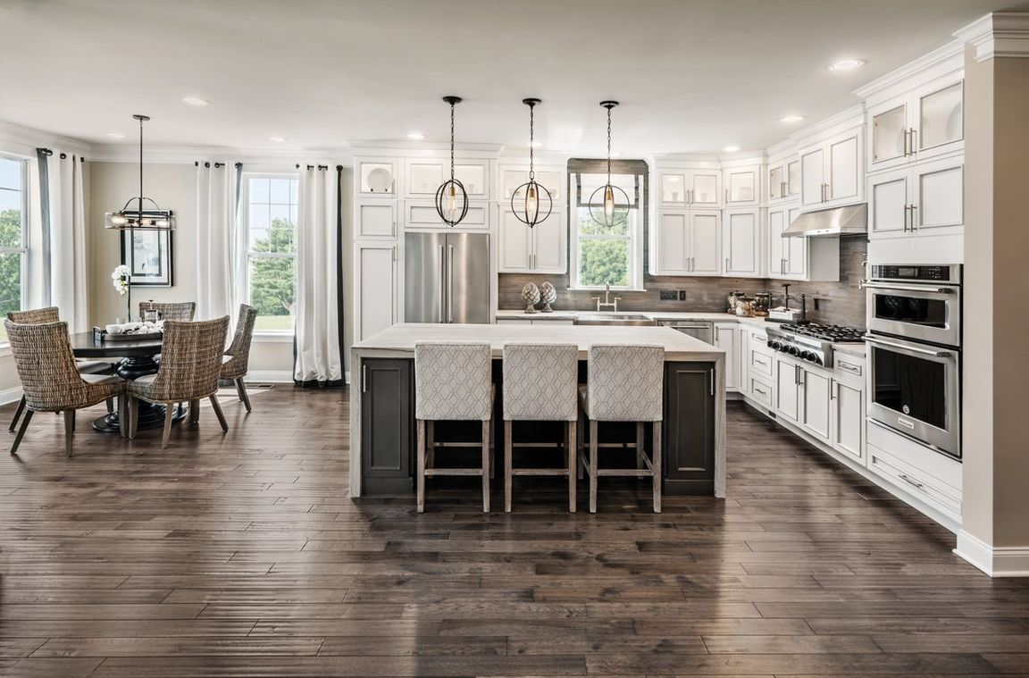 Kitchen cabinets danbury ct - Pentwater At Rivington By Toll Brothers The Ridge Collection In Kitchen Cabinets Danbury Ct