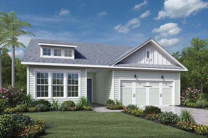 Ready To Build Home In Julington Lakes - Heritage Collection Community