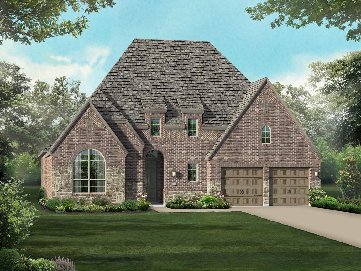 Ready To Build Home In Viridian: 60ft. lots Community