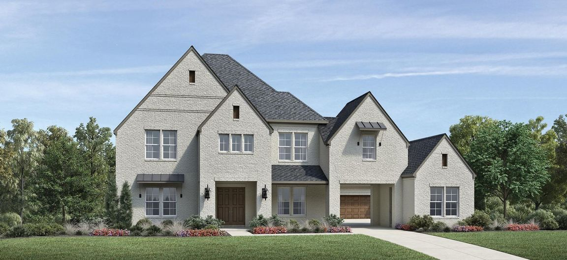 Ready To Build Home In Town Lake at Flower Mound Community