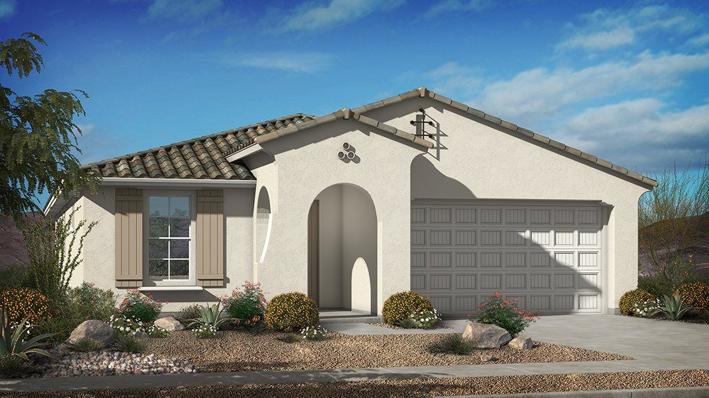 Ready To Build Home In Eastmark Endeavor Collection Community