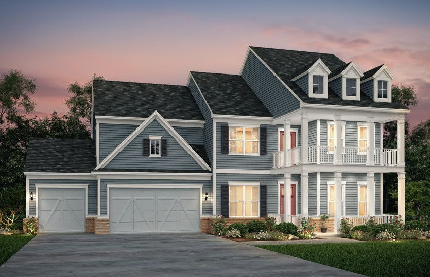 Ready To Build Home In Summerhour Community