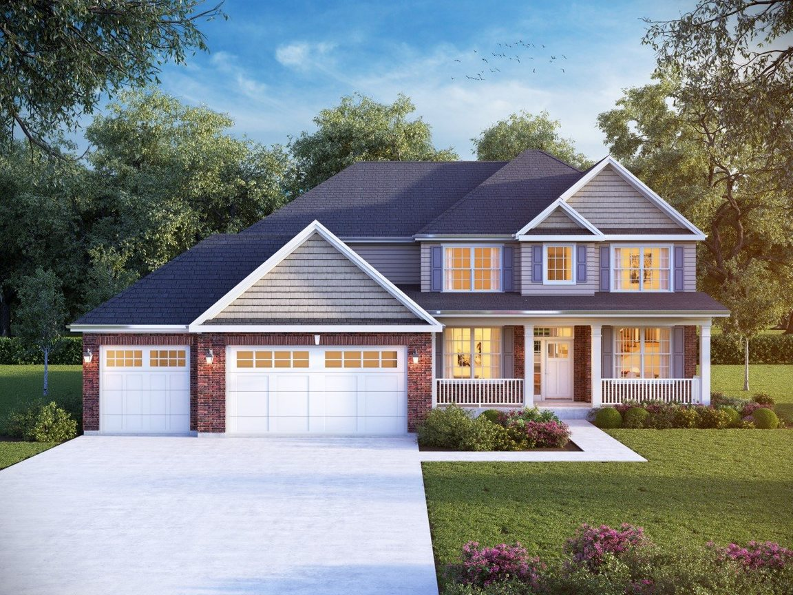 New Homes From Meadowbrook Builders In Minooka Il