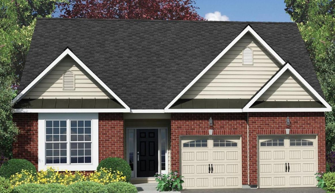 Ready To Build Home In Trio Fields Community