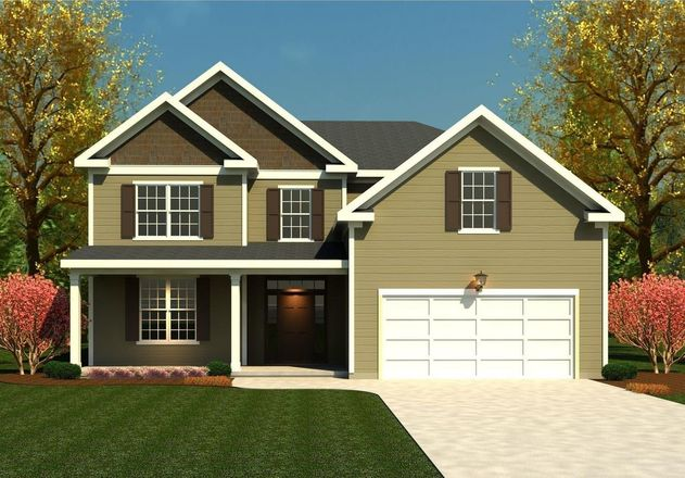 Ready To Build Home In Crawford Creek Community