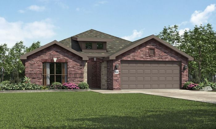 Ready To Build Home In Bell Farms Community