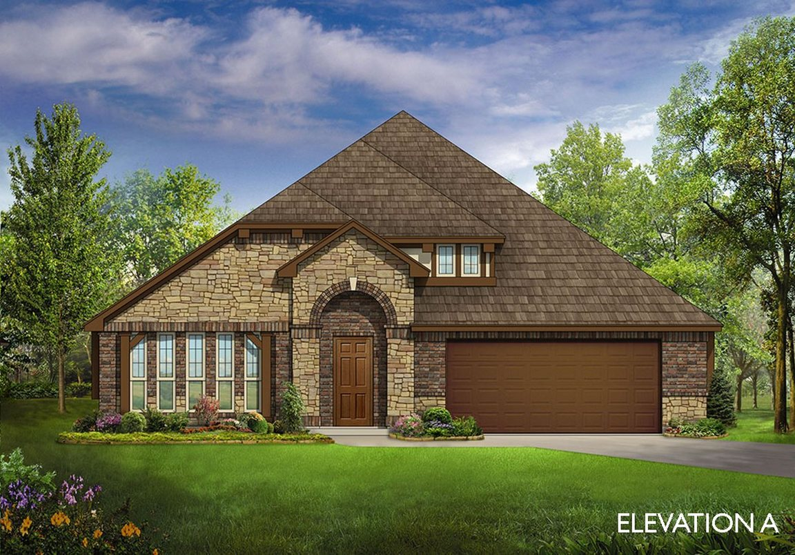 New homes from Bloomfield Homes in Mansfield, TX