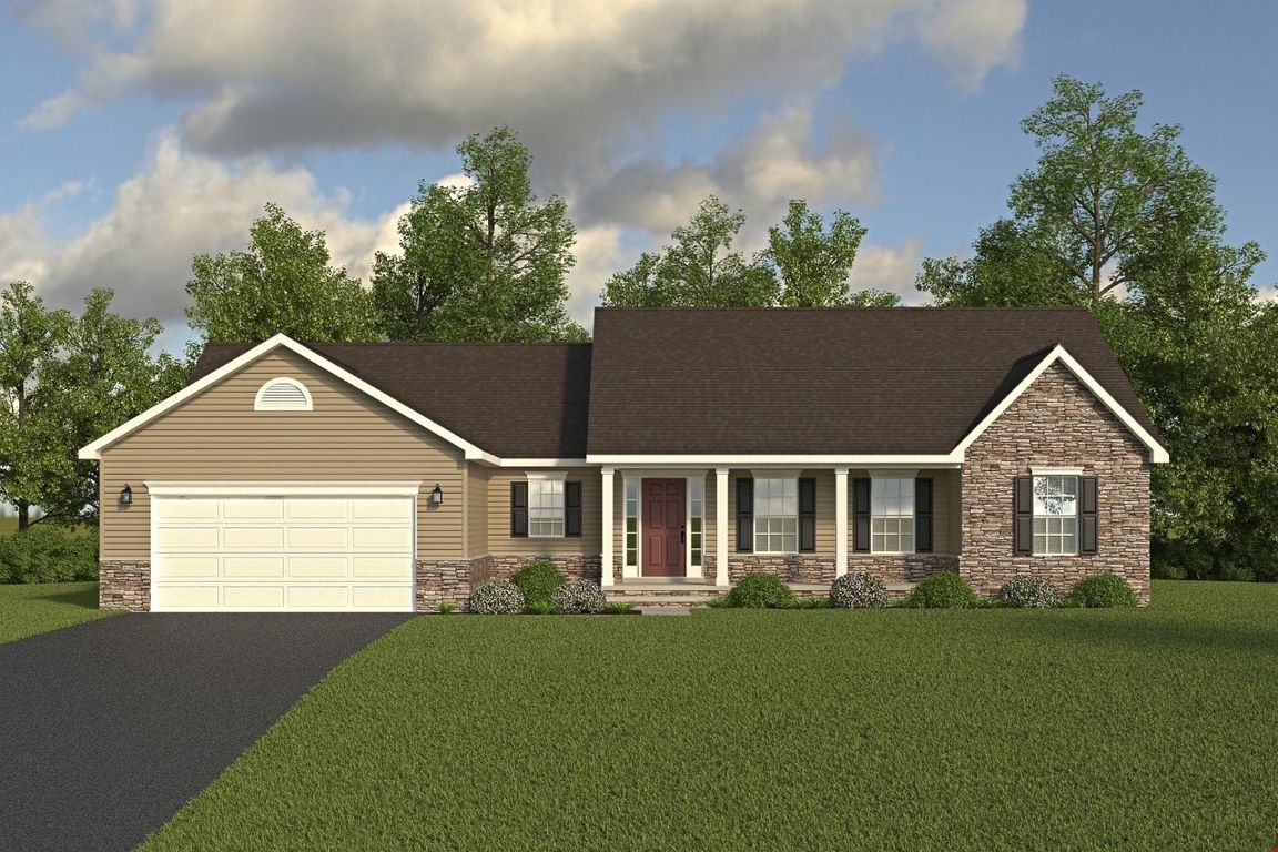 Ready To Build Home In Bridle Creek Community