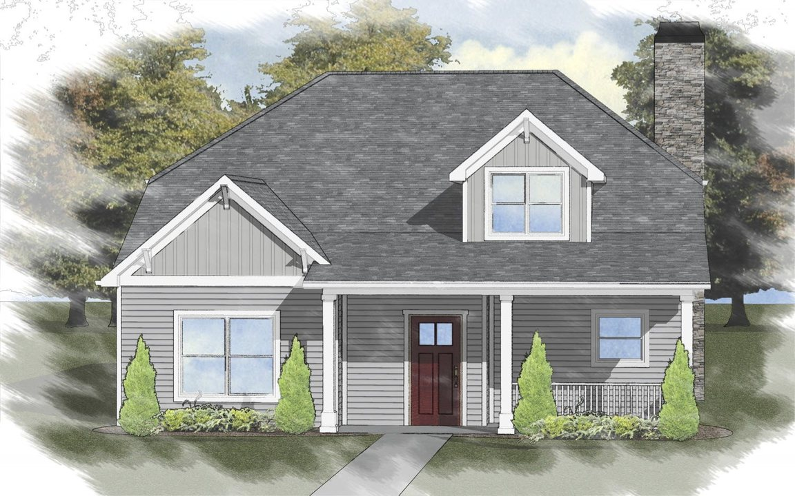Ready To Build Home In The Orchards at Pike Road Community