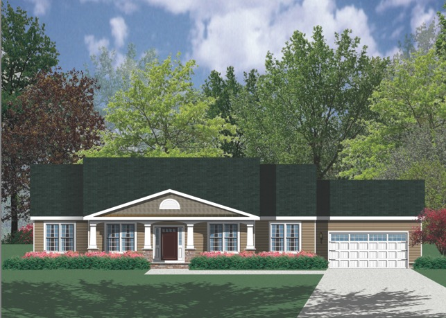 Ready To Build Home In Parry Custom Homes Pittsburgh Build on Your Lot Community