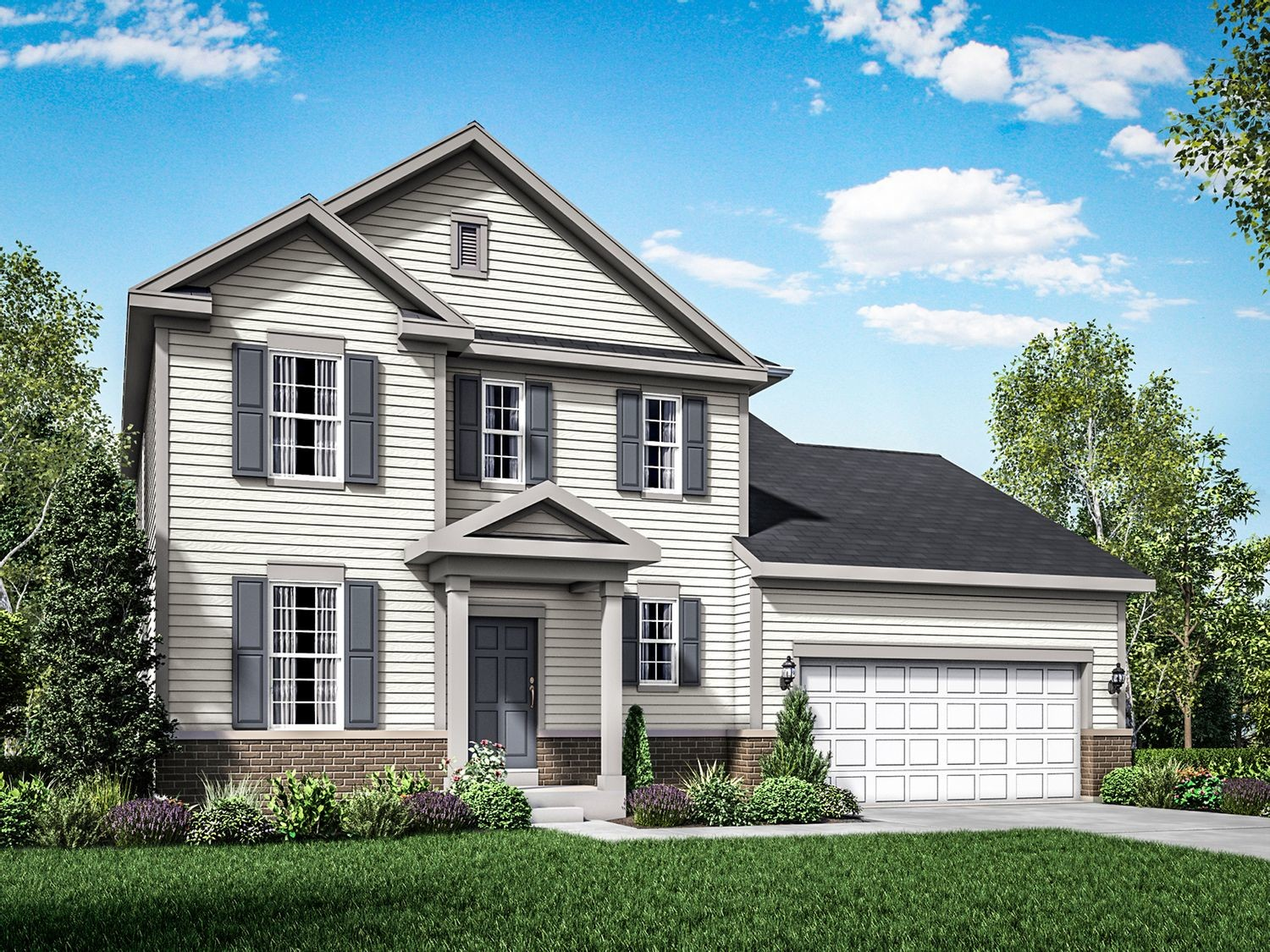 Ready To Build Home In West Prairie Village Community