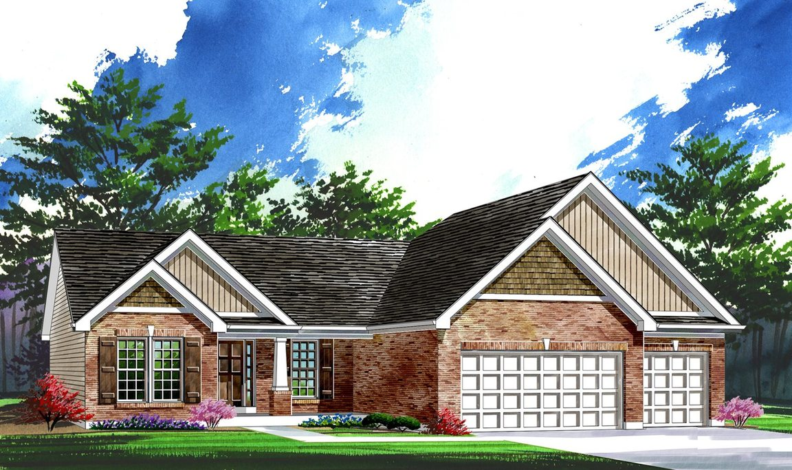 Fox Run Estates Community In Columbia Il Build By Rolwes Homes